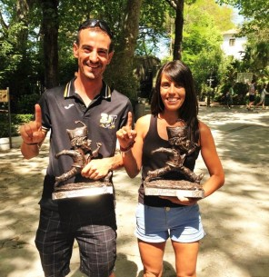 Gemma Arenas y Agustín Luján, veteranos de los 101km Ronda que nos contarán el final de LRU2015