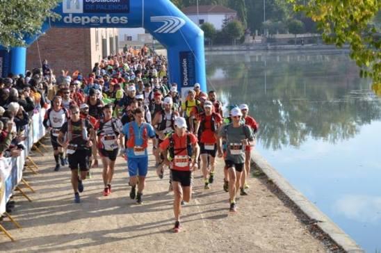 Salida Canal Castilla Ultra 2015. Foto: Luis Clemente.