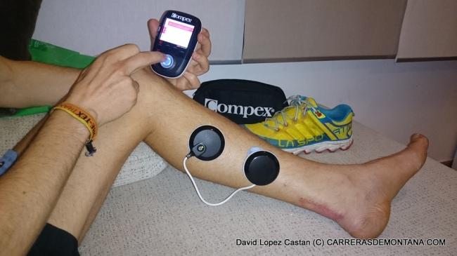 Entrenamiento trail running: Recupación lesiones con electroestimulación
