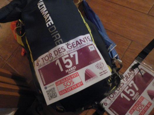 Mochila UD Fastpack 20 la víspera del Tor des Geants 330k