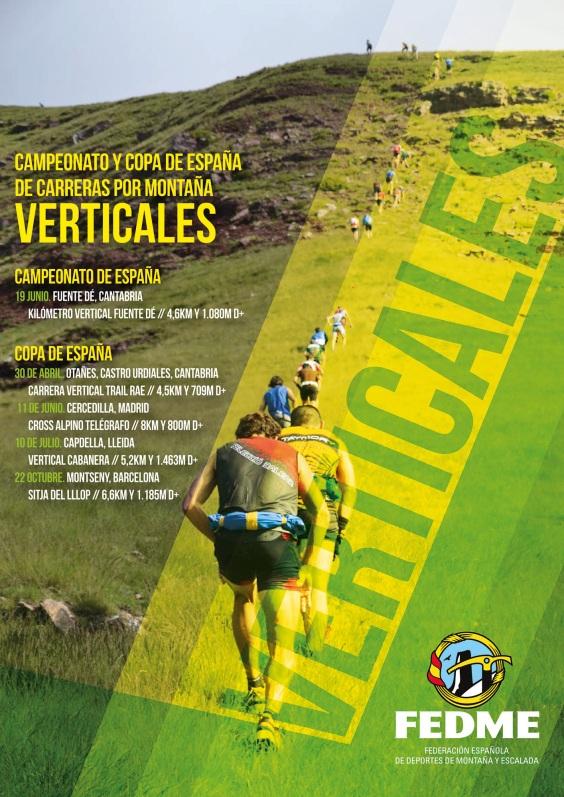 carreras montaña fedme 2016 kilometro vertical