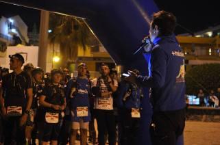 Tenerife Blue Trail 2015. Salida Ultra a medianoche. Foto: Org.