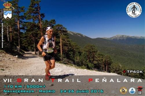 Gran Trail Peñalara 2016: Cartel oficial.