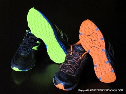 new balance fresh foam hierro vs NB MT910 v2