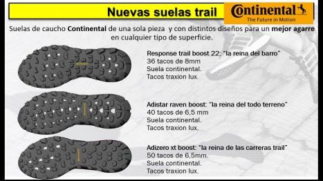Adidas trail Running 2016 seulas continental