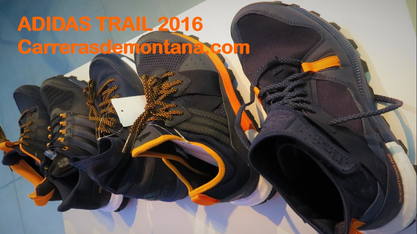 zapatillas adidas trail 2016