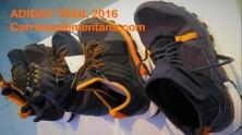 Adidas trail running shoes SS2016 Zapatillas montaña