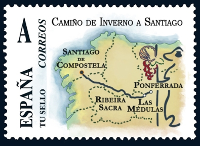 Camino de Santiago de Invierno sello
