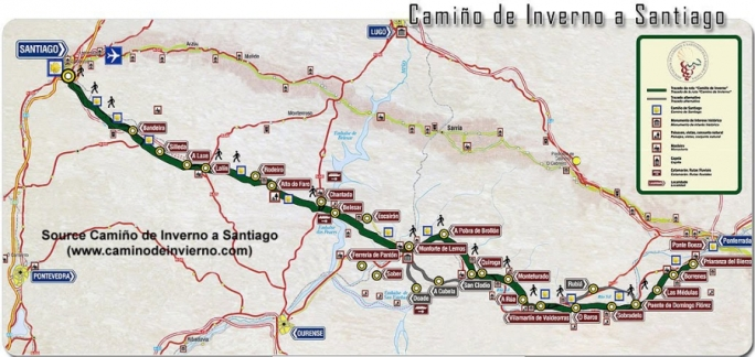 Camino de Santiago de Invierno