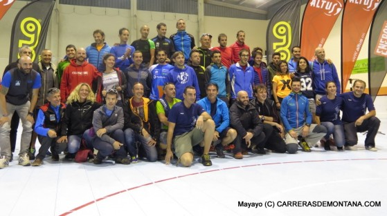 Canfranc Canfranc 2015: Foto familia finalistas ultra 100k