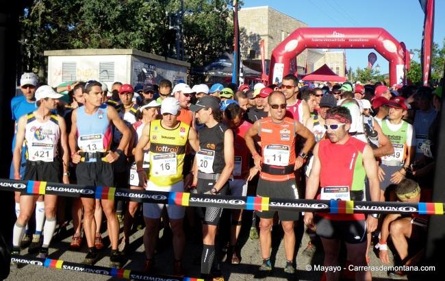 Salida Maratón Alpino Madrileño 2012.