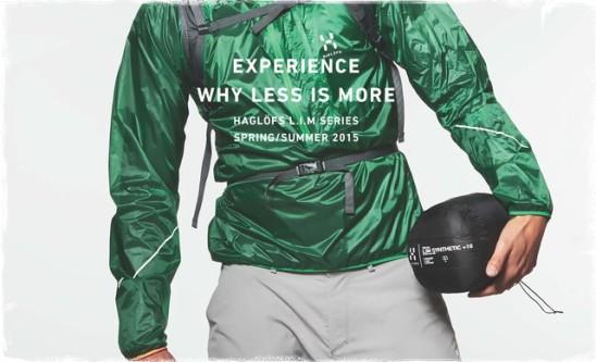 El cortaiventos Haglofs Lim Wind Pull abría catálogo est 2015 como prenda destacada