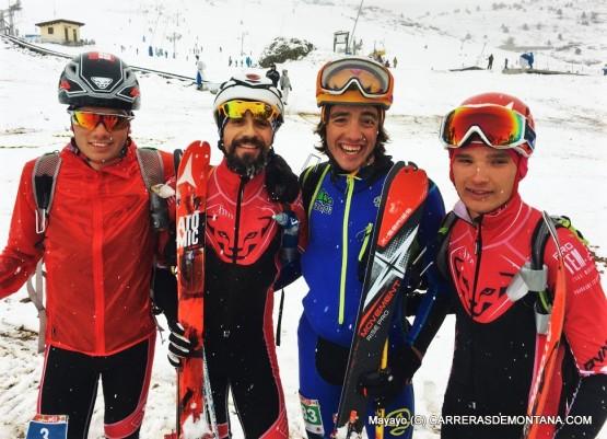 Carreras de montaña y Skimo: Deportes hermanos.