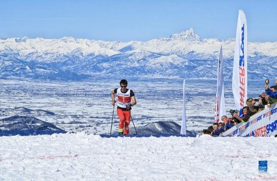 Kilian Jornet campeón del mundo skimo vertical 2016. Foto Willi Seebacher LR