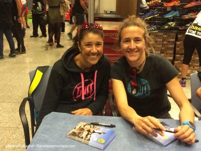 Nuria Picas y Manuela Vilaseca, del Buff. La campeona del UltraTrail world Tour parte como gran favorita hoy.