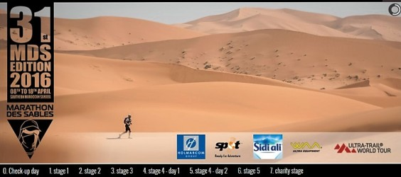 marathon des sables 2016 logotipo