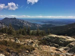 Vista Sur: Panorámica Pedriza y Embalse Santillana.