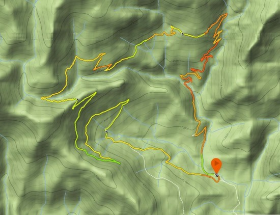 Zetas Pedriza mapa