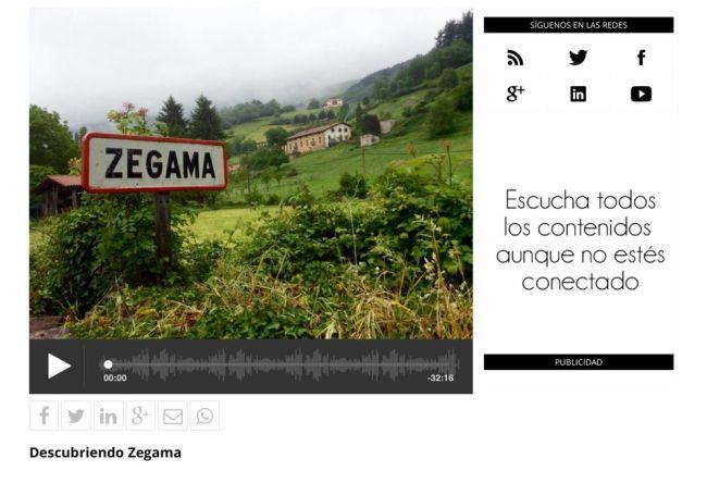 Zegama Aizkorri 2016: Radio Mikel Apaolaza, Carlos Domingo y Mayayo