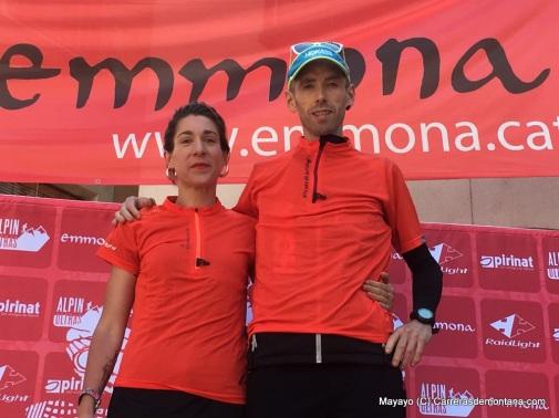 Ion Azpiroz y Marta Comas, campeones Emmona Ultra Trail