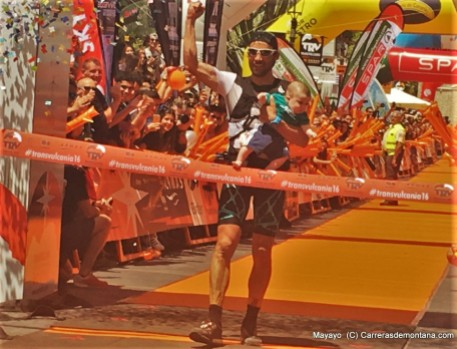 Luis Alberto Hernando, campeón Transvulcania 2016.