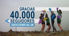 carreras de montaña 40.000 seguidores facebook