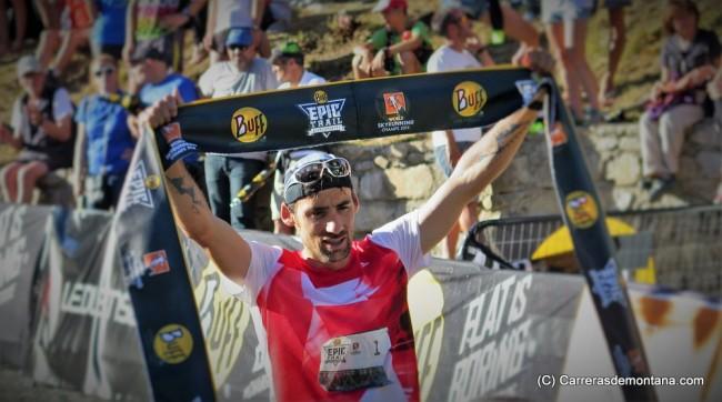 Luis Alberto Hernando, bicampeón del mundo Skyrunning Ultra 2014-16