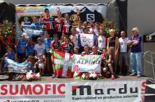 Carreras montaña 2016 campeonato españa fedme clubs masculino