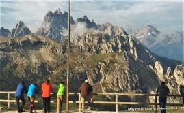 Rifugio Auronzo: Punto clave Lavaredo Ultra Trail