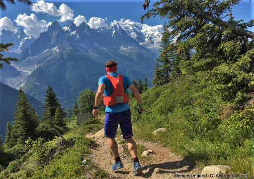 Descenso del Lac Blanc en Chamonix con Dynafit Feline Ultra