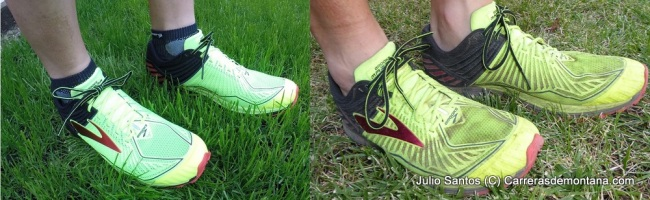 Brooks Mazama 0KM vs 500km