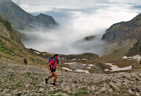 Paisajes Ultra Canfranc Canfranc. Espectáculo en alta montaña.