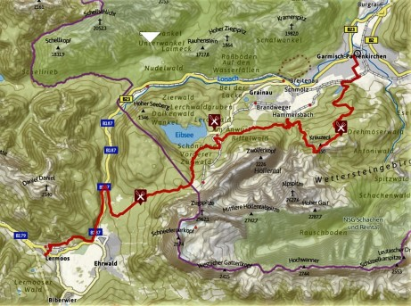 Transalpine run 2016 stage 1 garmisch - lermoos 37km