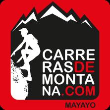 carreras de montaña logo cuadrado