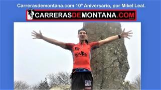 Mikel Leal en corremontes hoy 73 Decimo aniversario carrerasdemontaña caratula