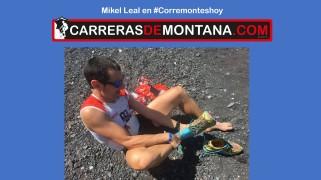 Mikel Leal en corremontes hoy 75 Los viejos