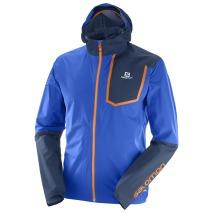salomon bonatti pro jacket chaqueta trail running y montaña azul