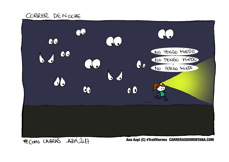 Carreras de Montaña y terrores nocturnos. #Trailviernes-103 con Ana Azpi.
