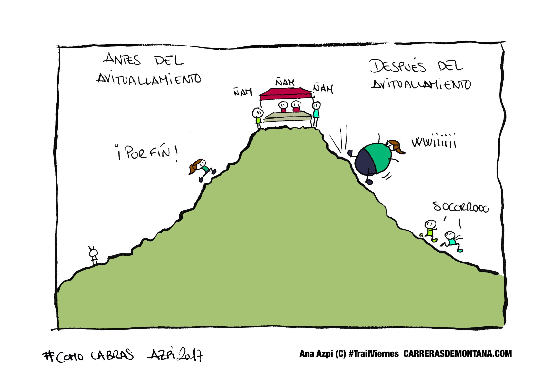 Carreras de Montaña y Avituallamientos en #Trailviernes-110 con Ana Azpi.