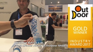 Katadyn BeFree 1.0L Wins Gold Award at OutDoor Show