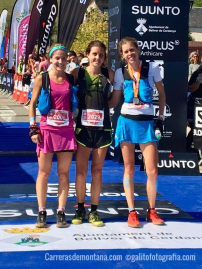 Podium Fem Maratón Ultrapirineu 2017
