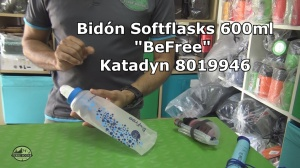 Bidón Softflasks para potabilizar agua 0.6L BeFree Katadyn 8019946