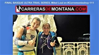 #corremonteshoy-101 final BUTS por mikel leal en #corremonteshoy-100