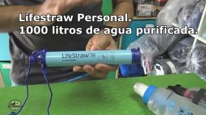 Lifestraw Personal. 1000 litros de agua purificada.