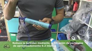 Reduce la turbidez mediante la filtración de partículas de aproximadamente 0.2 micras.