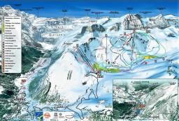Estacion esqui Gavarnie Gedre mapa pistas mayayo 2
