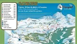 estacion esqui nordico le somport pyreneees