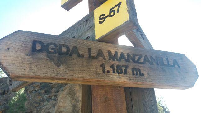 Degollada de la Manzanilla, km40 de la Transgrancanaria Advanced