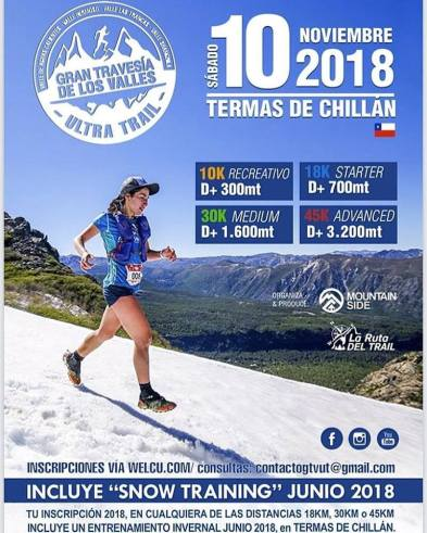 trail running chile 2018 gran travesia