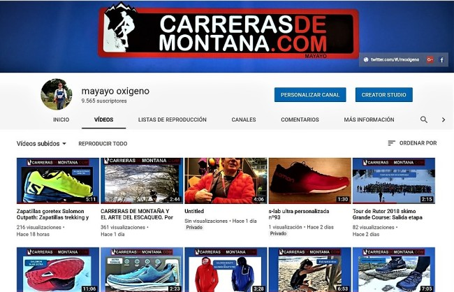 VIDEOS TRAIL RUNNING MAYAYO 27mar18